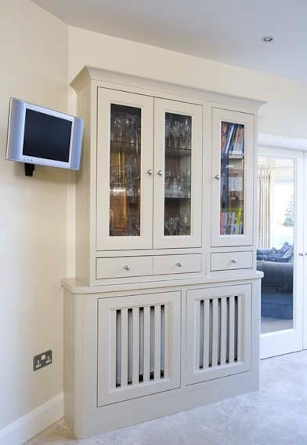 Featured Photo of Radiator Cover Bookshelves