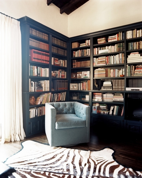 Recent Black Bookcases Inside Black Bookcase Photos, Design, Ideas, Remodel, And Decor – Lonny (View 2 of 15)
