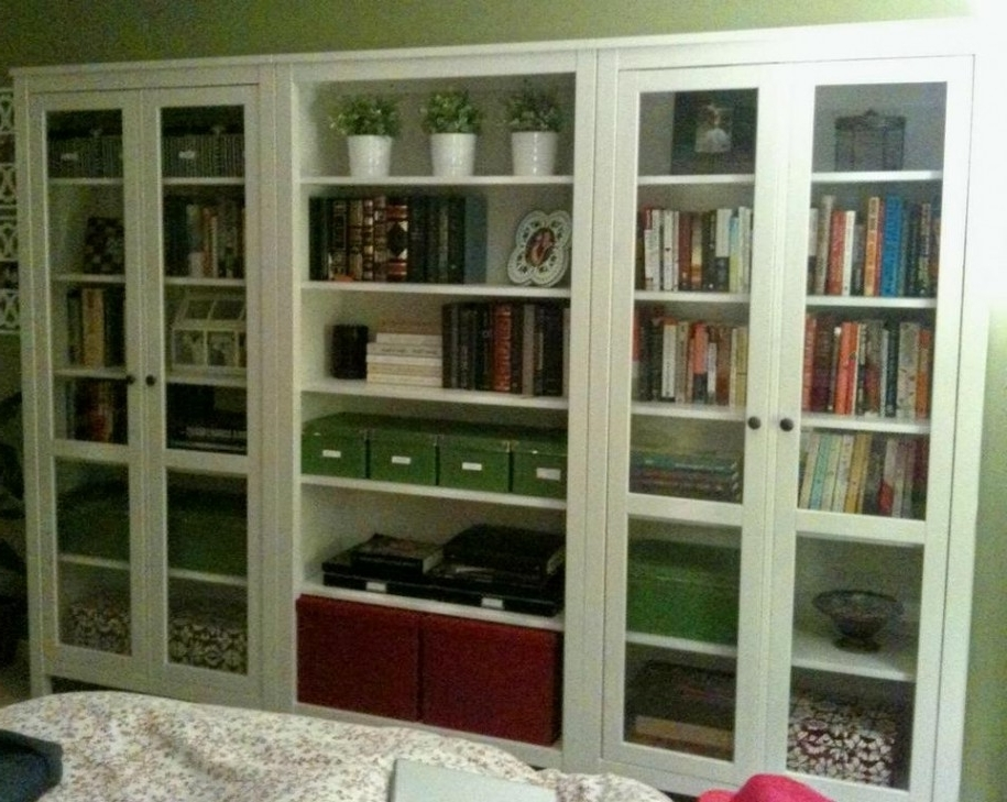 Recent Bookshelves With Glass Doors: Glamorous Ideas For Glass Door Throughout Glass Door Bookcases (View 13 of 15)