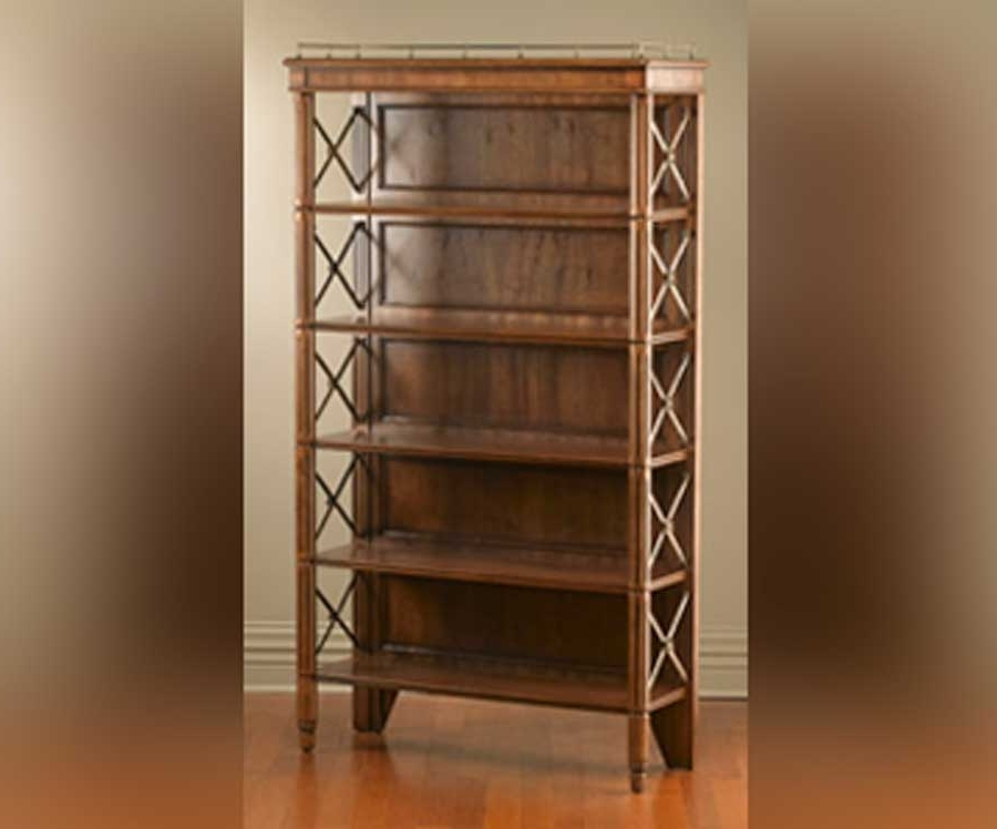 Recent Classic Bookshelves Design Throughout Classic Home Storage Furniture Wooden Bookcase – Nevadadesign (View 14 of 15)
