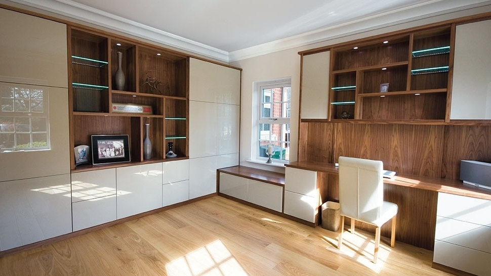 Recent Fitted Study Furniture Regarding Fitted Home Office Furniture (View 2 of 15)