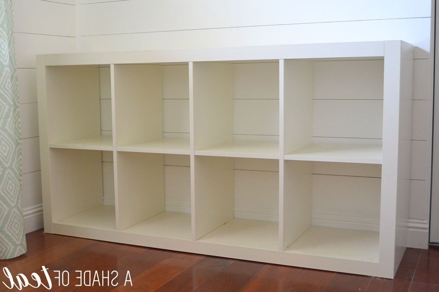 Recent How To Add Wood To A Ikea Expedit Cube Shelf Pertaining To Ikea Cube Bookcases (View 12 of 15)