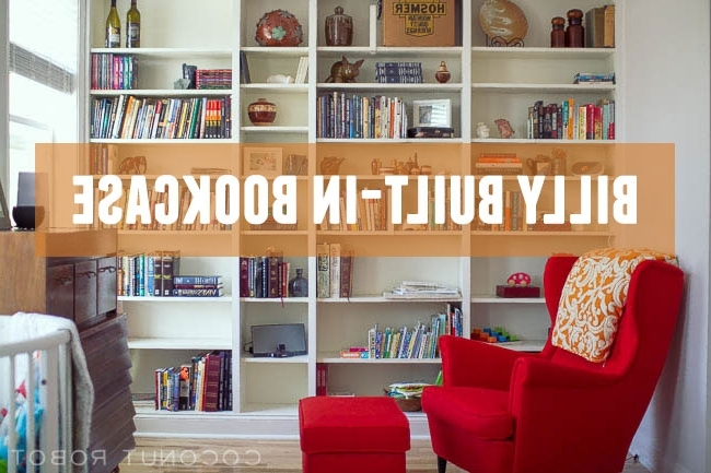 Featured Photo of Built In Bookcases Kits