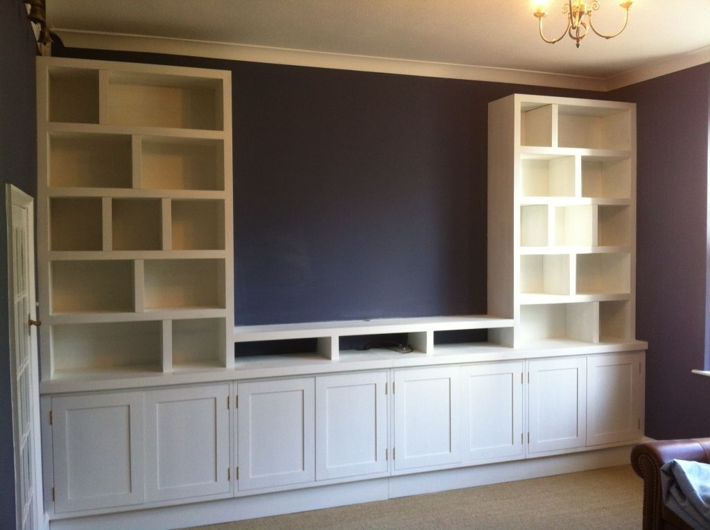 Recent Inexpensive Built In Wall Units Full Wall Storage Units (View 4 of 15)