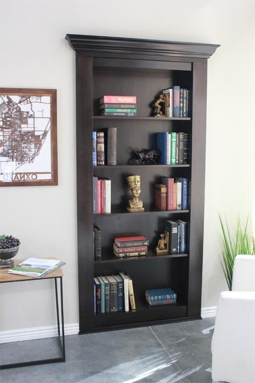 Recent Secret Bookcase Door – Secure & Hidden (View 8 of 15)