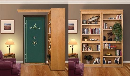 Recent Secret Door Bookcases Within Bookcase Doors – Specialty Doors And Hardware (View 9 of 15)