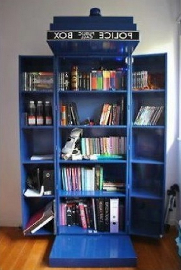 Featured Photo of Tardis Bookcases