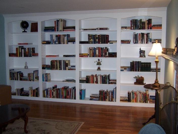 Retail Built In Bookshelves (View 6 of 15)