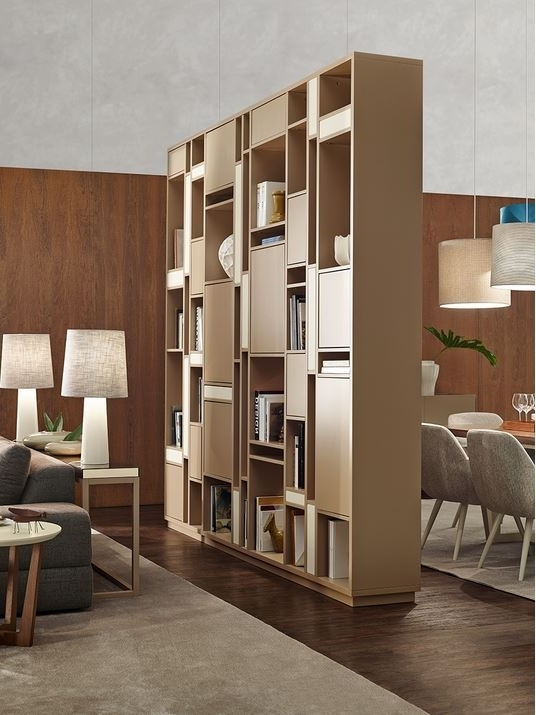 Rome Bookcase Vanguard Concept Double Sided Bookcase (View 3 of 15)