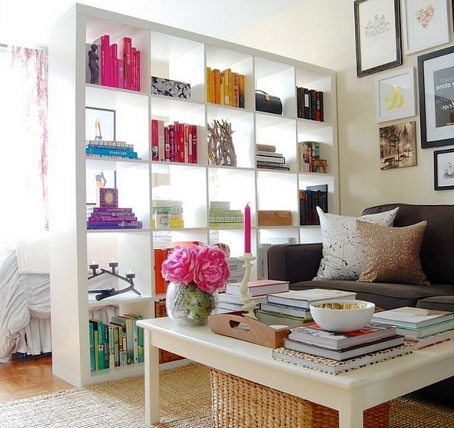 Featured Photo of Room Divider Bookcases