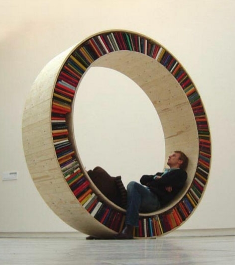 Round Bookcases For Preferred Awesome Round Bookcase Pictures – Best Inspiration Home Design (View 12 of 15)