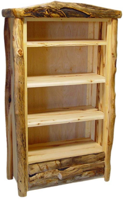 Rustic Bookcase (View 7 of 15)
