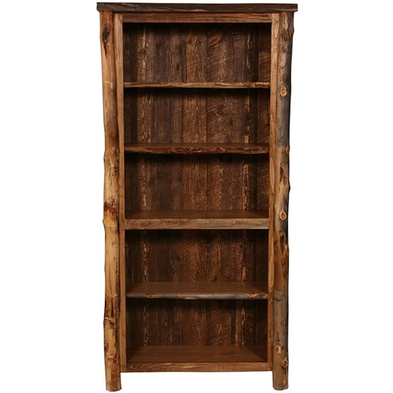 Rustic For 2017 Rustic Bookcases (View 13 of 15)