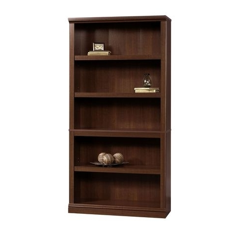 Sauder 5 Shelf Bookcases For Most Up To Date Sauder 5 Shelf Bookcase: Shopko (View 9 of 15)