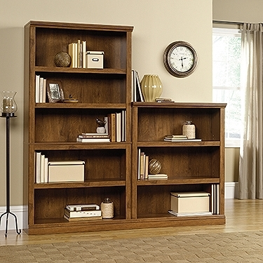 Sauder 5 Shelf Bookcases Throughout Well Liked Sauder 410367 – Sauder Oiled Oak 5 Shelf Bookcase (View 13 of 15)