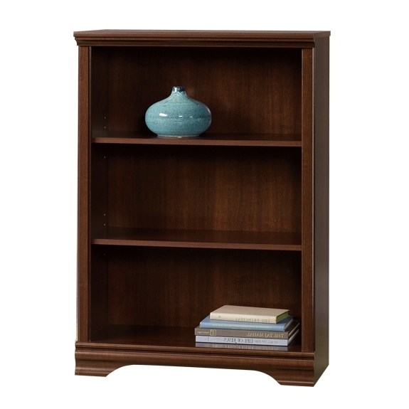 Sauder Carolina Estate 3 Shelf Bookcase 411898 For Well Known 3 Shelf Bookcases (View 12 of 15)