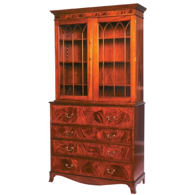 Secretary Bookcases Throughout Well Known Bookcases & Secretaries – Englishman's Fine Furnishings (View 14 of 15)