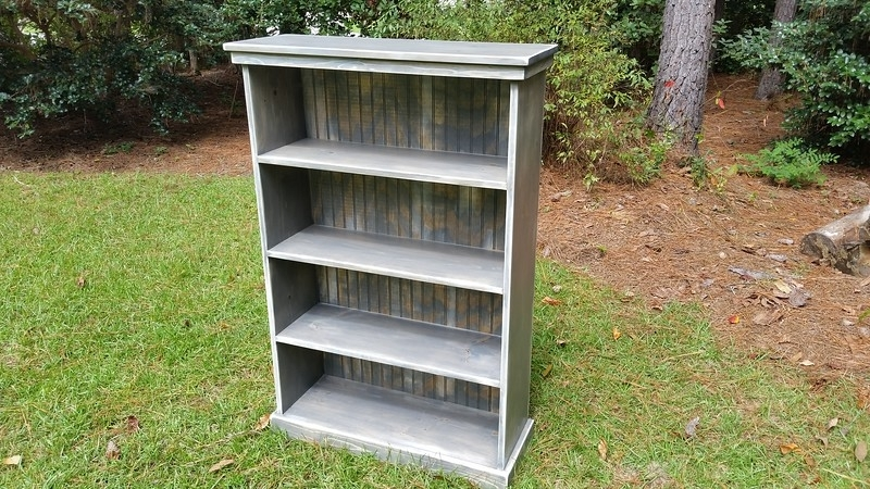 Shabby Chic Bookcase…. (View 9 of 15)