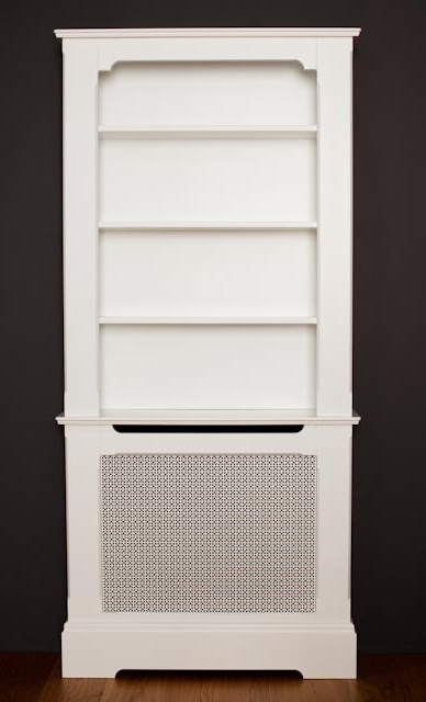 Featured Photo of Radiator Cover With Bookcases