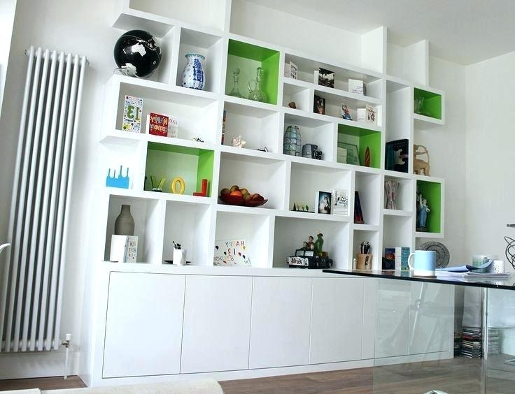 Shelving Bookcases Shelving Bookcases Modern Bookcases Alcove With Current Fitted Shelving (Gallery 8 of 15)