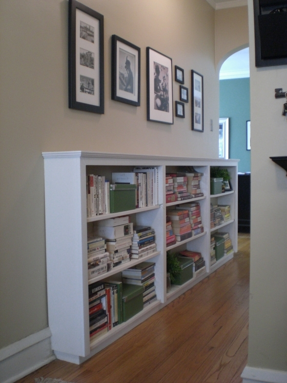 Short Bookcases Inside Trendy Finding Space: Hallway Bookcases (View 9 of 15)