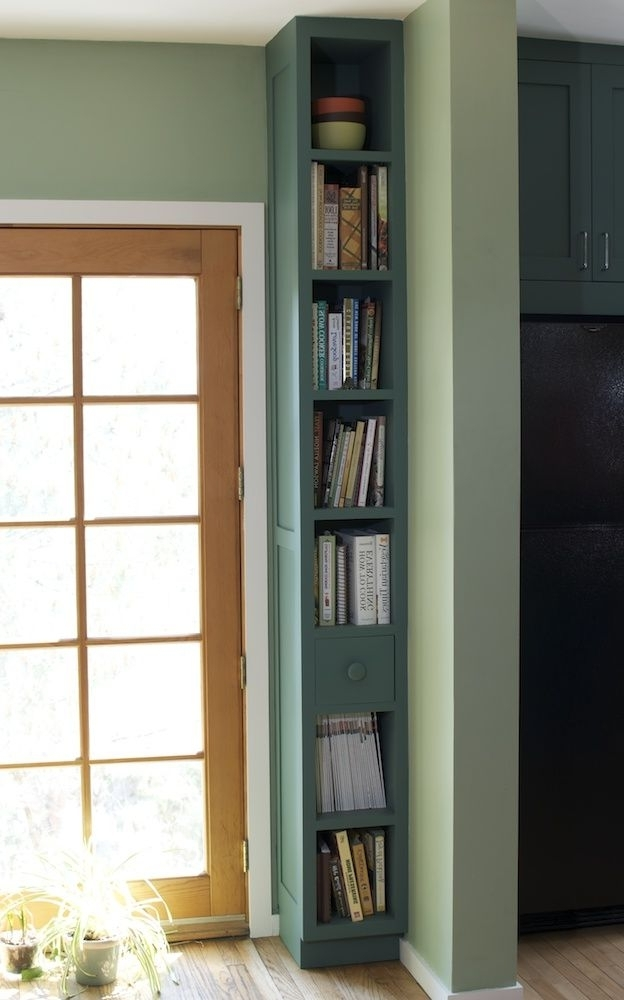 Skinny Bookcases In Favorite I'm Going To Try This In The Entry Way Of My Mid Entry Home (View 8 of 15)