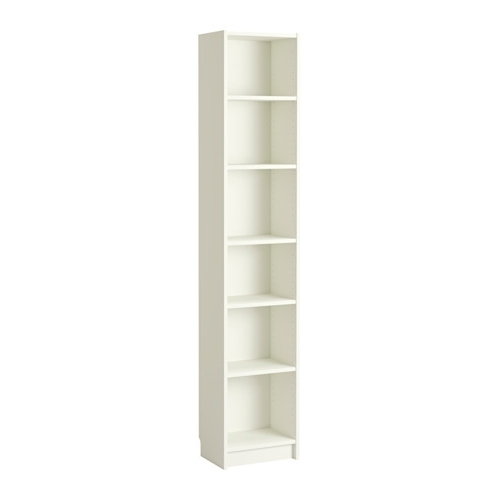 Skinny Bookcases Intended For Most Recent Billy Bookcase – White – Ikea (View 9 of 15)