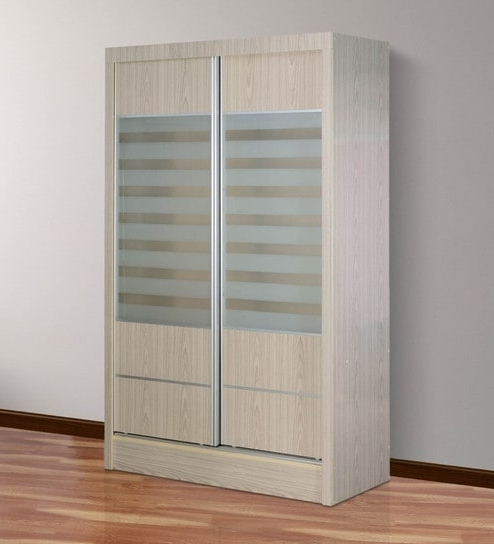 Sliding Door Wardrobes With Regard To 2017 Buy Wardrobe With Sliding Doors In White Finishessance Online (View 12 of 15)