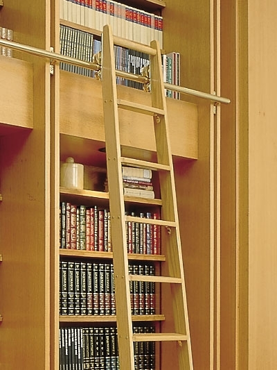 Sliding Library Ladder In Trendy Library Ladders – Alaco Ladder (View 11 of 15)