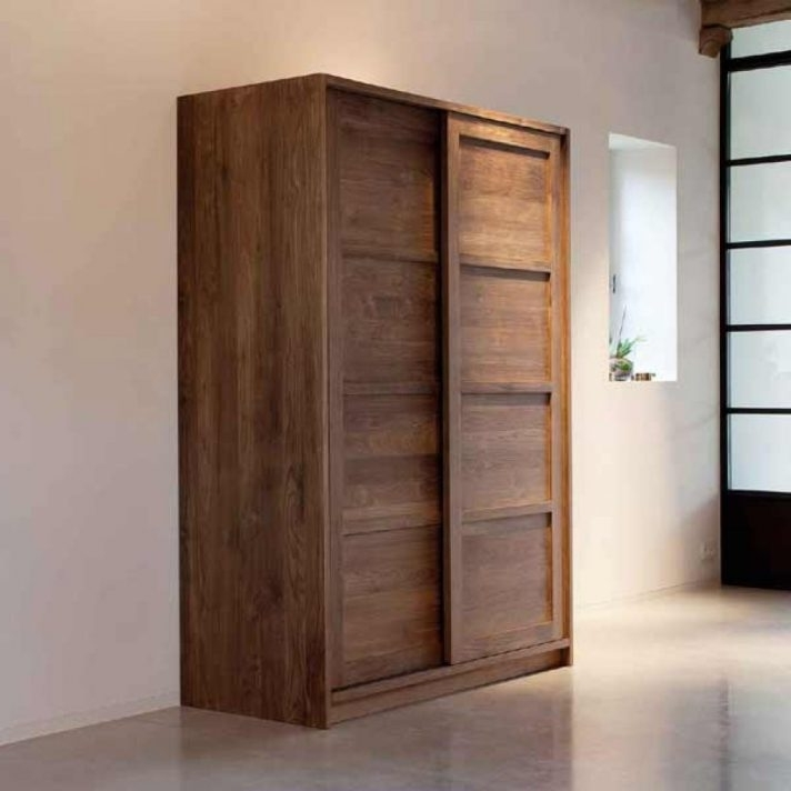 Solid Dark Wood Wardrobes In Famous White Solid Wood Wardrobes For Sale Dark Wardrobe Armoire You Must (View 9 of 15)