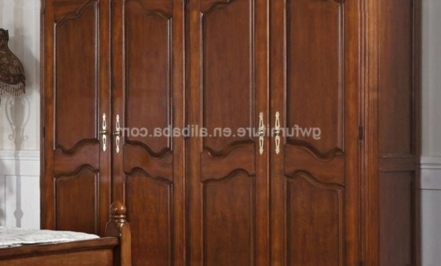 Solid Dark Wood Wardrobes Inside 2018 How To Find The Perfect Solid Wood Wardrobe – Midbedsconservatives (View 10 of 15)