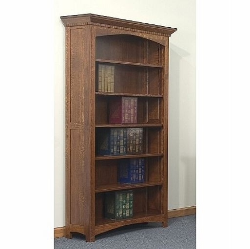 Solid Oak Bookcases Intended For Fashionable Bookcases Ideas: Ten Real Wood Bookcases With High Quality (View 9 of 15)