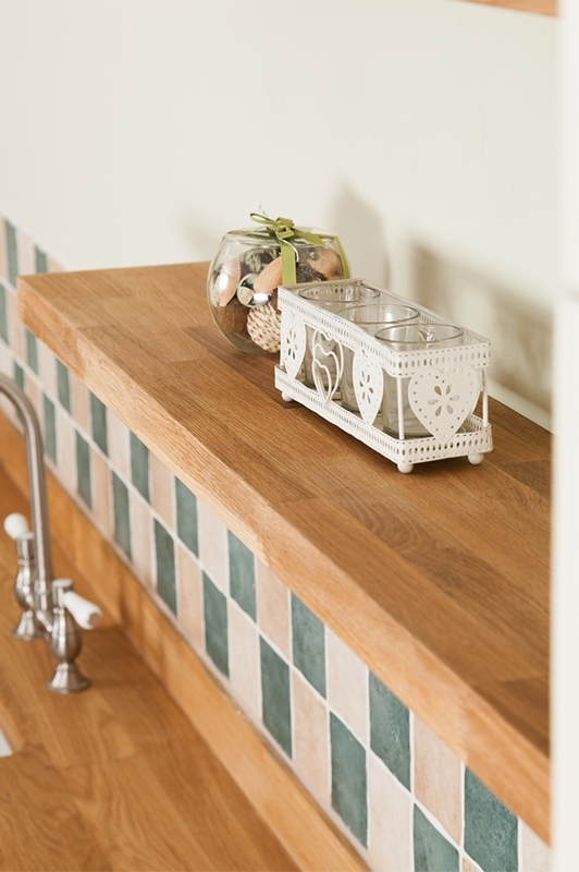 Solid Oak Floating Shelves & Oak Shelving – Worktop Express Regarding Trendy Solid Oak Shelves (View 9 of 15)