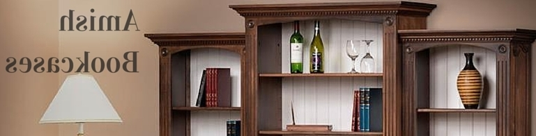 Solid Wood Bookcases At Dutchcrafters For Famous Real Wood Bookcases (View 12 of 15)