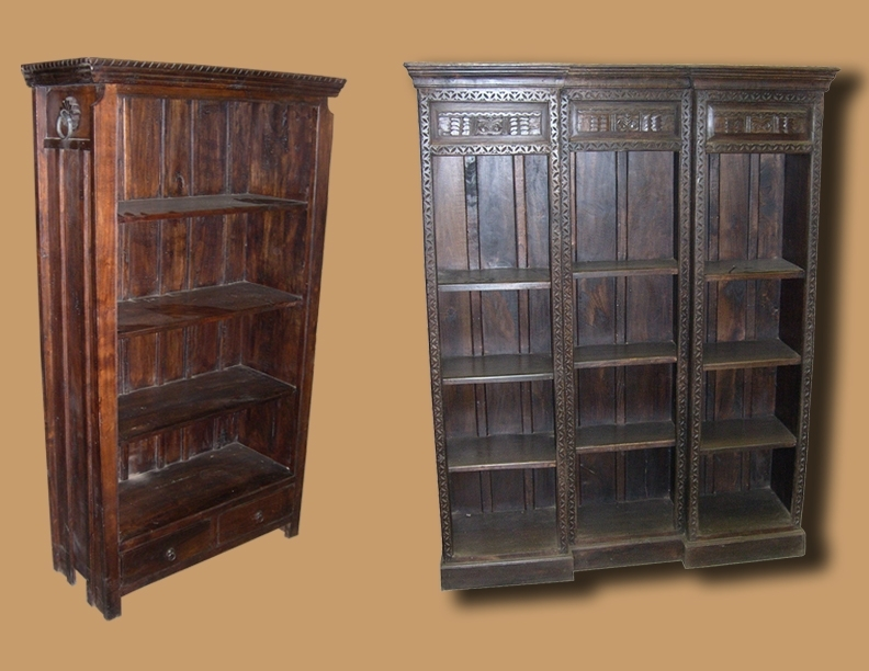Solid Wood Bookcases In San Diego (View 14 of 15)