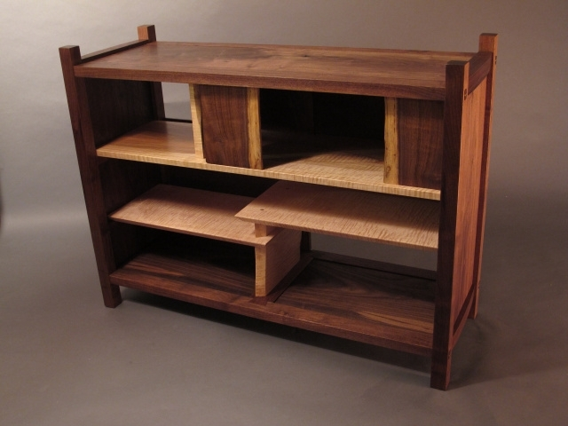 Solid Wood Bookshelves, Wood Coffee Tables With Storage, Entry Pertaining To Well Known Handmade Bookshelves (View 11 of 15)
