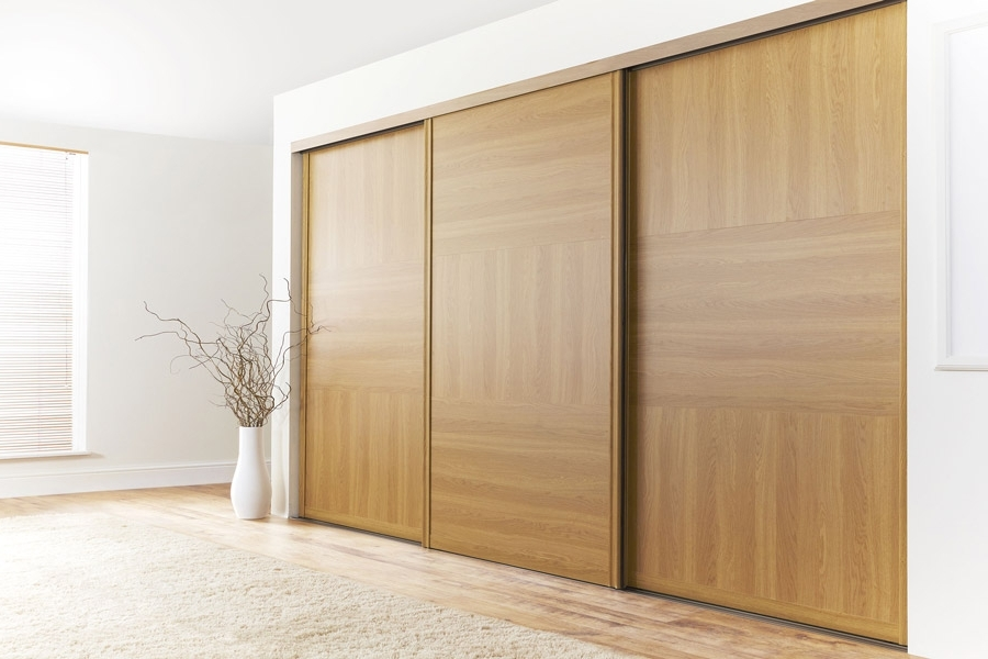 Solid Wood Fitted Wardrobes Doors Inside Recent Typical Door Designs – Google Search (View 10 of 15)