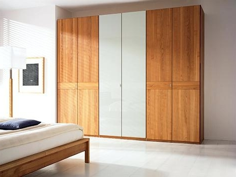 Solid Wood Fitted Wardrobes Doors With Regard To Famous Solid Wood Wardrobe – Smartonlinewebsites (View 11 of 15)