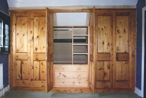 Solid Wood Fitted Wardrobes Regarding Trendy Wardrobes ~ Solid Wood Built In Wardrobes Solid Wood Fitted (View 4 of 15)