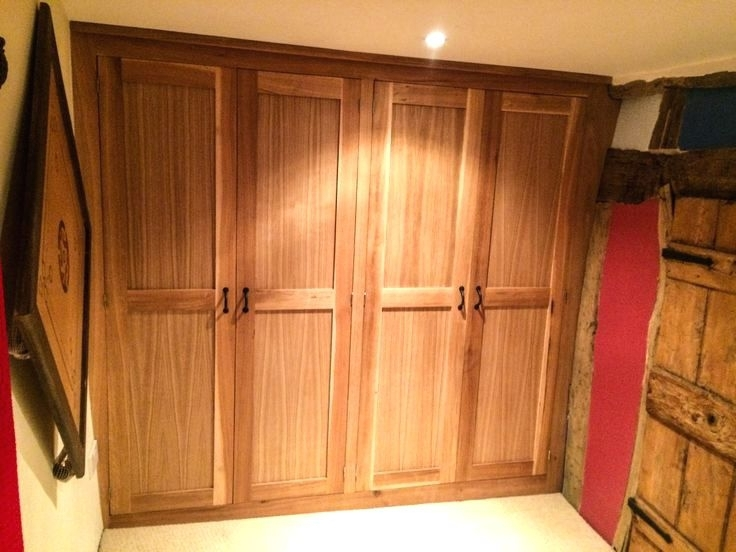 Solid Wood Fitted Wardrobes Throughout Popular Wardrobes ~ Solid Wood Built In Wardrobes Solid Wood Fitted (View 10 of 15)