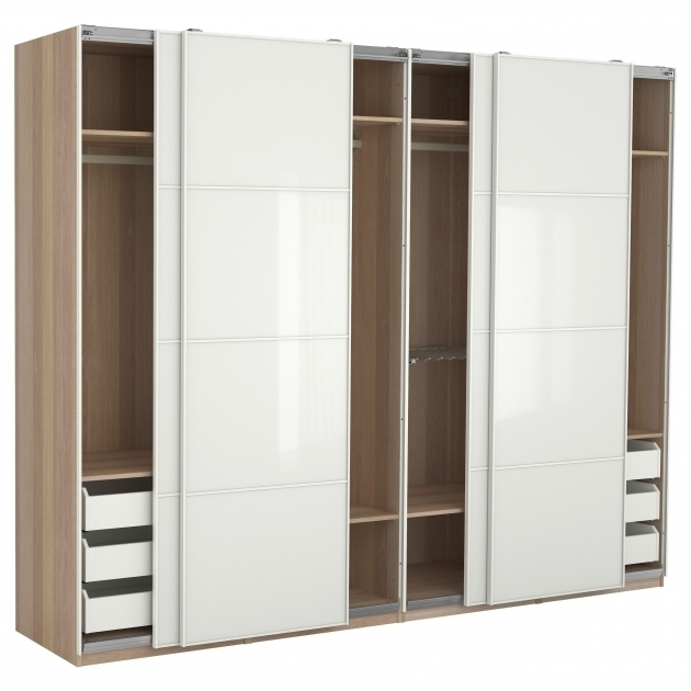 Solid Wood Wardrobes Closets With 2017 Solid Wood Wardrobe Closet Black Solid Wood Wardrobe With Frosted (View 13 of 15)