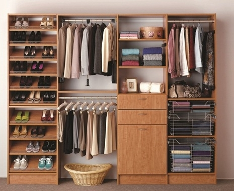 Space Saving: Built In Wardrobe (View 9 of 15)