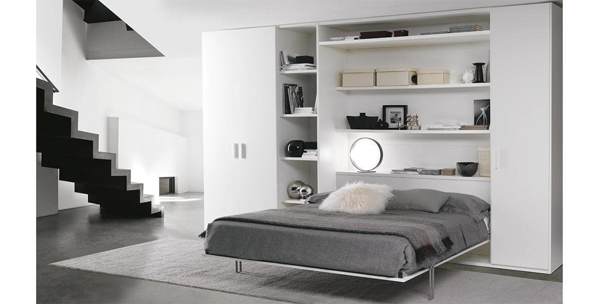 Space Saving Wardrobe With Double Pull Out Bed (View 14 of 15)