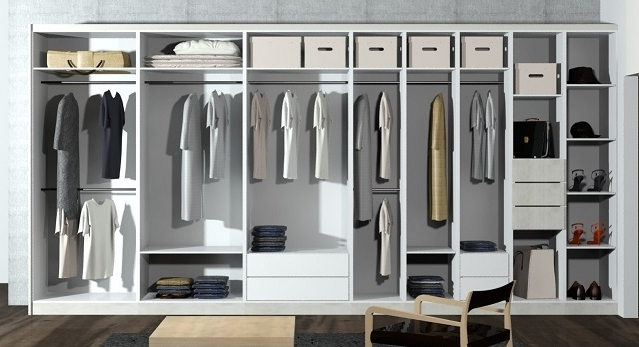 Space Saving Wardrobes Regarding Widely Used Why Modular Wardrobe Designs? Versatile, Space Saving And Affordable! (View 13 of 15)