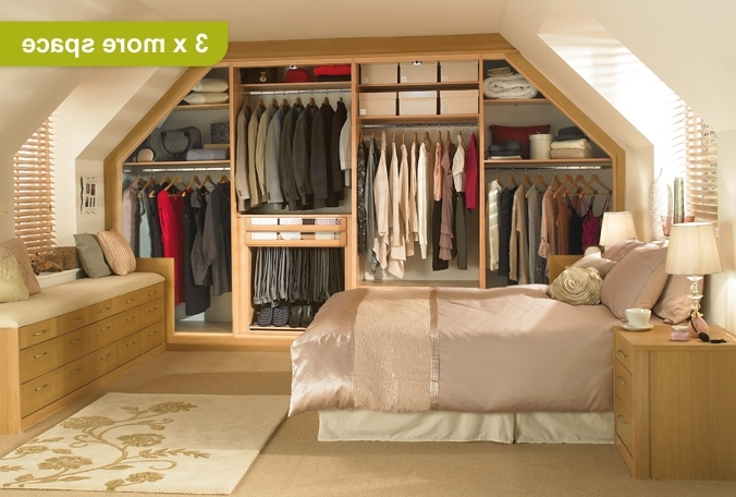 Space Saving Wardrobes Within Well Known Space Saving Wardrobes & Wardrobes For Sloping Ceilings – Sharps (View 11 of 15)