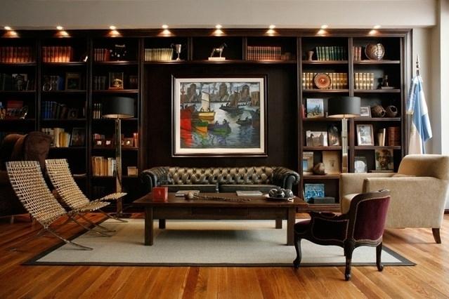 Study Bookshelves For Preferred Bookshelf Lighting Bookshelf Ideas Living Room Study Design Small (View 5 of 15)