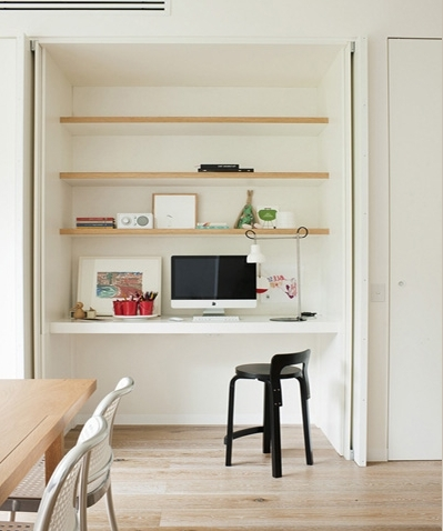 Study Nook, Clever And White Bench With Most Up To Date Study Cupboard Designs (View 14 of 15)