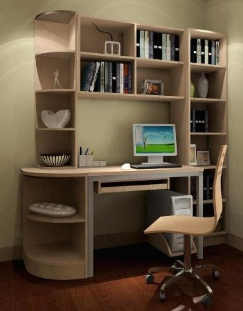 Study Room Cupboard Design With Regard To Best And Newest Study Room Design Kuala Lumpur, Malaysia (View 5 of 15)