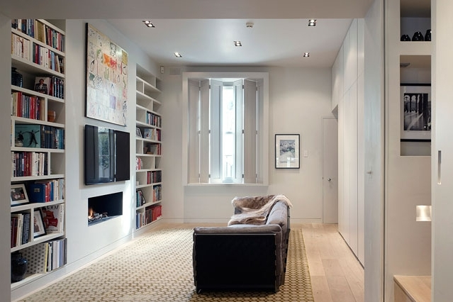 Study Shelving Ideas With Regard To Latest Bookshelf Ideas For Small Rooms Small Spaces Bookshelf Ideas (View 10 of 15)