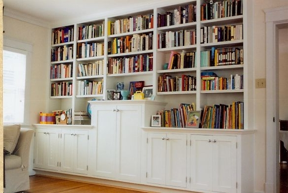 Study Shelving Regarding Best And Newest The Custom Carpenter – Bookcases (View 14 of 15)